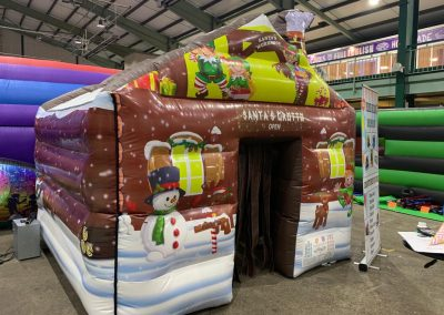 Inflatable Santa's Grotto