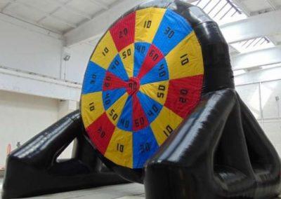 Kick n Stick Inflatable Dartboard
