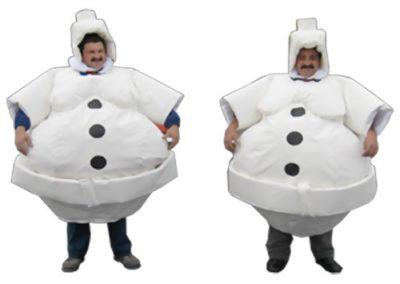 Christmas Sumo Suits