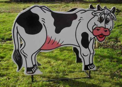 Lifesize Milking Cow