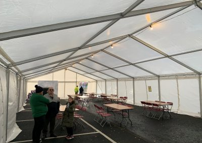 Table, Chair  and marquee for hire Ireland