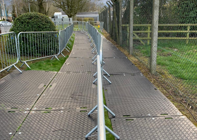 Barriers and Track mats